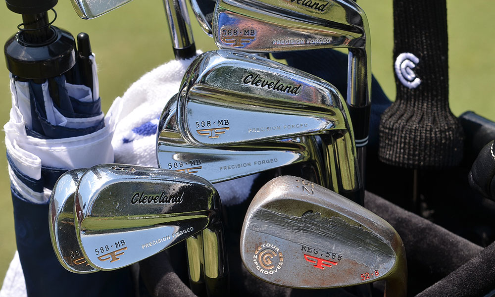 Jeff Overton uses Cleveland Forged 588 MB irons and 588 Forged wedges.