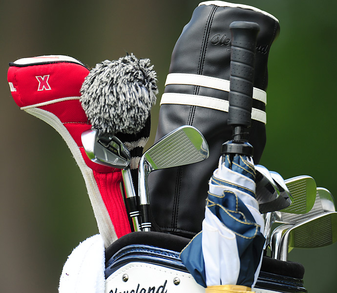 Cleveland 558 MT irons can be found in Jerry Kelly's bag.