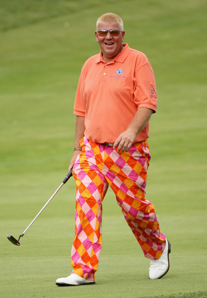 3. John Daly, 2009 Open de Espana                     The look that started it all. John Daly debuted the now infamous Loudmouth Golf pants in 2009, sending the golf fashion world atwitter. The bright prints were a huge departure for Daly, whose previous golf-style hallmarks had been neutral colors and non-descript silhouettes. Daly's partnership with Loudmouth Golf marked the beginning of his career resurgence, and put them both at the forefront the golf world's consciousness.