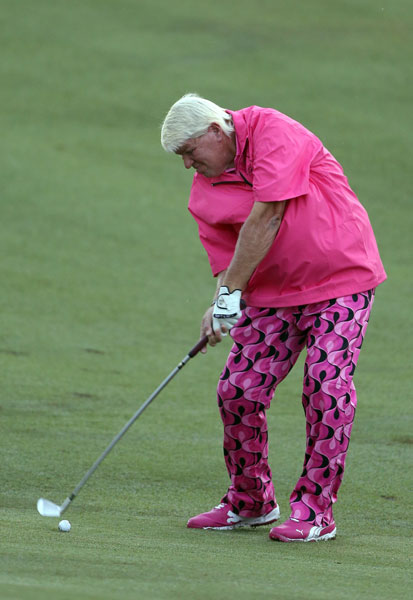 John Daly shot a 1-under 69 in the opening round, a 71 Friday and missed the cut by two shots.