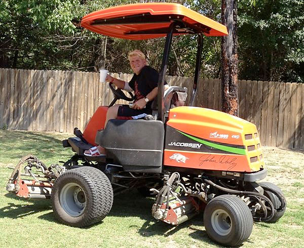 John Daly's Jacobsen fairway mower