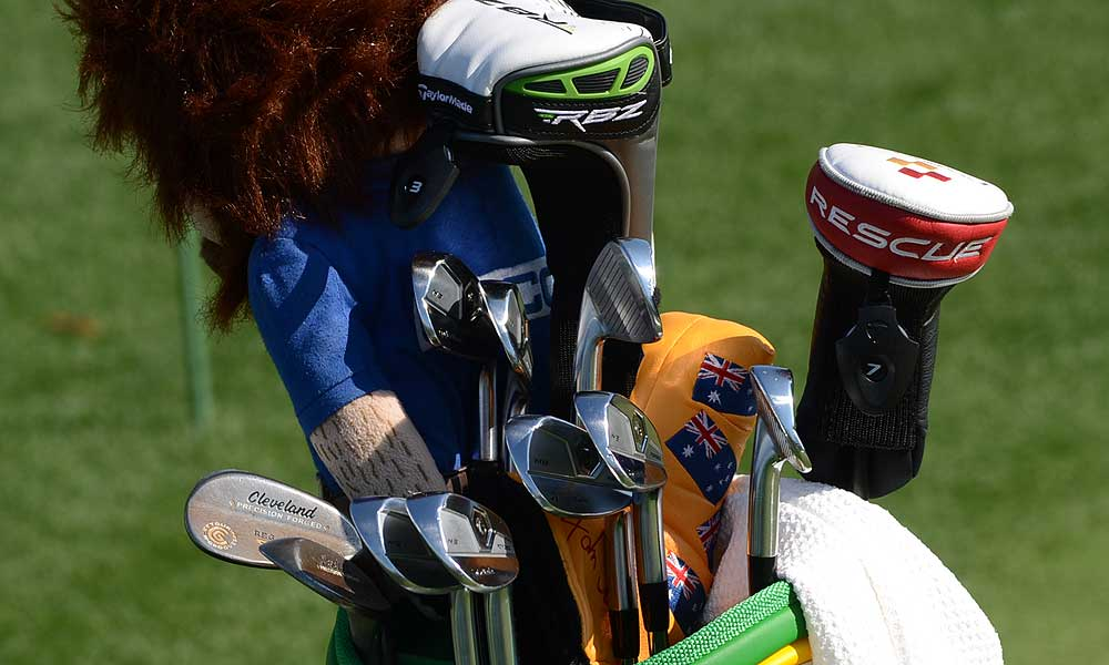 John Senden plays TaylorMade TP MB irons and Cleveland Forged 588 wedges.