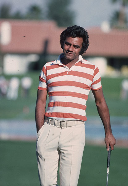 Since his introduction to the game in 1965, singer Johnny Mathis has remained a student of the game. Mathis has played in many pro-am tournaments and hosted The Johnny Mathis Seniors PGA Classic twice.