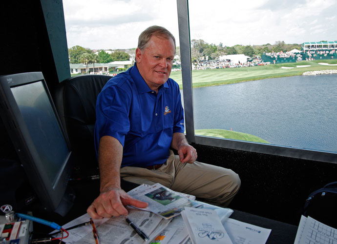 "Johnny Miller                                       At the 1999 Ryder Cup, the relentlessly candid NBC golf analyst said Justin Leonard looked so out of sorts he should have just stayed home. Leonard's comeback against Jose Maria Olazabal made Miller eat his words. As Tom Lehman's American Ryder Cup team got ready to play the Europeans at the K-Club in Ireland in 2006, Miller said, ""This is probably on paper the worst Ryder Cup team we've ever fielded."" (He may have been right. The Yanks lost by a record-tying margin, 18.5-9.5.) At the 2008 U.S. Open, the fearless Johnny irked Italian Americans when he said Rocco Mediate looked like ""the guy who cleans Tiger's swimming pool,"" and, ""guys with the name of Rocco don't get the trophy, do they?"" He later apologized. Miller has continued to launch his barbs from the NBC booth, including this gem when Andrew Loupe was put on the clock for slow play during the third round of the 2014 Valero Texas Open: ""If everyone on Tour played like him I'd quit announcing."""