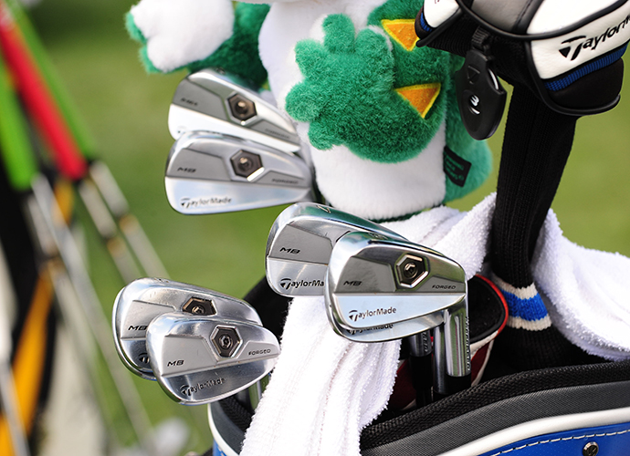 John Senden earned his first victory of the year last week with forged TaylorMade MB irons.