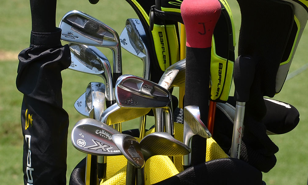 Jonas Blixt was in the mix at the HP Byron Nelson last week and is hoping this set of Cobra S3 Pro irons and Callaway X Forged wedges can help him win at Colonial.