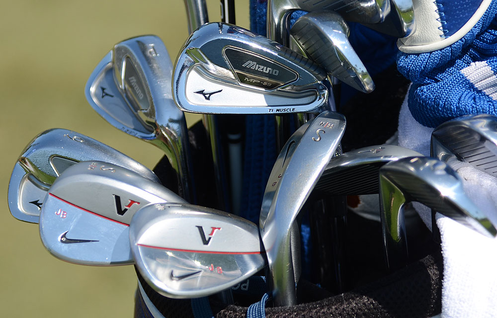 Jonathan Byrd plays s Mizuno's MP-59 irons and Nike VR wedges.