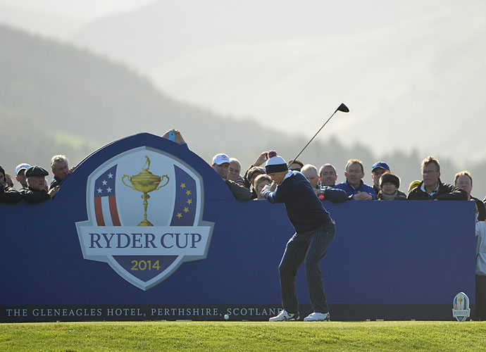 Jordan Spieth was part of the 2010 American team that won the Junior Ryder Cup, which was also played at Gleneagles. Spieth and Patrick Reed sat out the afternoon round after defeating Ian Poulter and Stephen Gallacher.