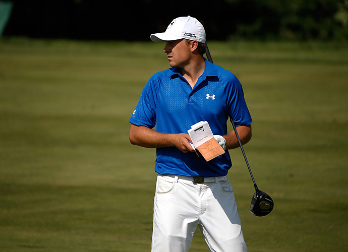 Spieth opened with a 71.