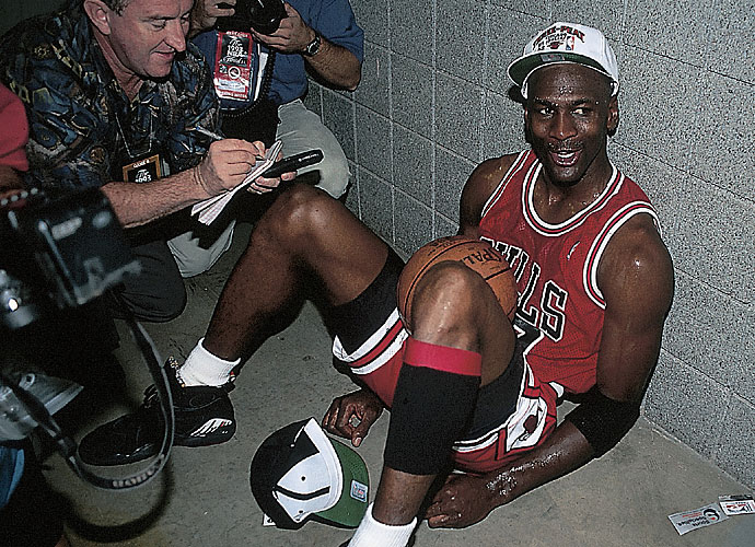 Michael Jordan's Chicago Bulls won their third-consecutive NBA title that summer, beating the Phoenix Suns in six games.