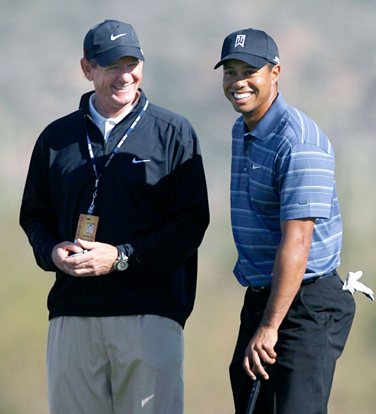 Hank Haney Follow @HankDHaney                      Tiger's former swing coach offers lifelines to frustrated hackers and gives lots of insight into Woods and many other players.                                          Dan Jenkins (not pictured), former Sports Illustrated writer and current writer at large for Golf Digest.Follow @DanJenkinsGD