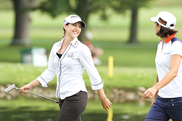 Brock Mackenzie and Paige Mackenzie Follow @BrockMackenzie                        Follow @Paige_Mackenzie                        Very funny, droll siblings, she a promising young LPGA player and he a mini-tour grinder.