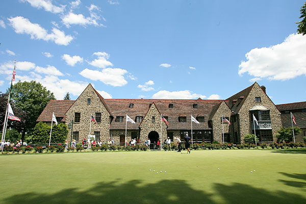 Aronimink Golf Club (Newtown Square, Pa.) hosted the 1962 PGA Championship and the 2003 Senior PGA Championship. This weekend's AT&T National will also be played at Aronimink.