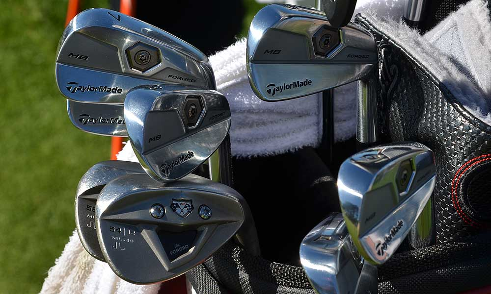 Justin Leonard, who recently signed an endorsement deal with TaylorMade, is now playing the Tour Preferred Forged MB irons.