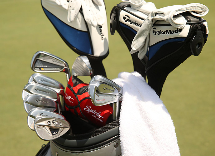 Former U.S. Ryder Cup hero Justin Leonard plays TaylorMade Tour Preferred MC irons.