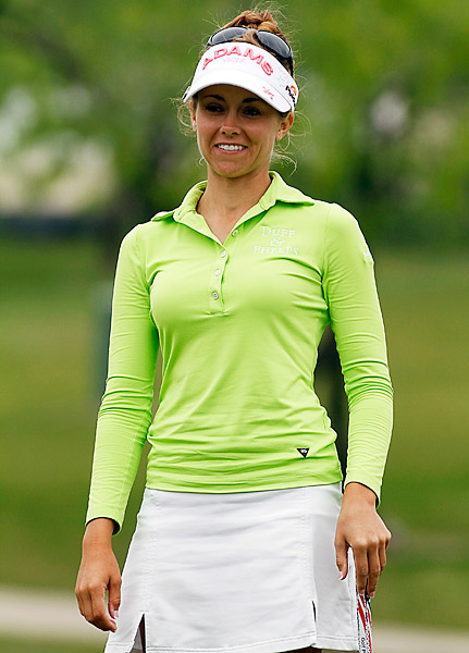 Ekey during the third round of the North Texas LPGA Shootout played at Las Colinas Country Club in Irving, Texas.