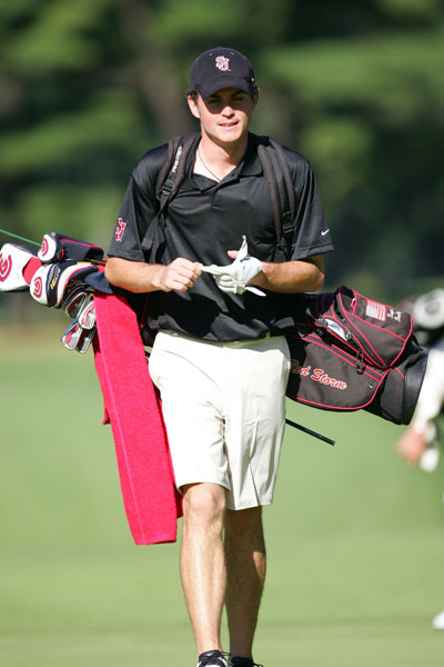 Keegan Bradley, competing for St. John's University.