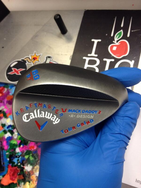 A Callaway Mack Daddy 2 made for 2011 U.S. Amateur champion Kelly Kraft.