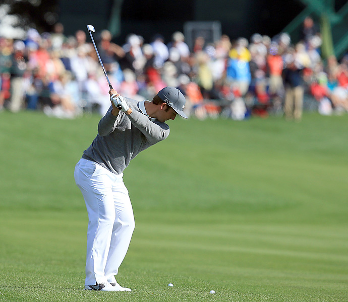 Kevin Chappell made six bogeys and a double bogey to shoot a 79.