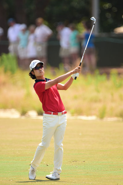 Kevin Na was solid through the first 13 holes before stumbling on the back. He double-bogied 14 and 16 and shot 73.