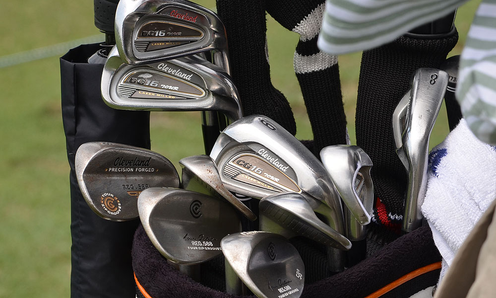 Kevin Stadler plays Cleveland's CG16 Tour irons. He also carries Forged Cleveland 588 wedges.