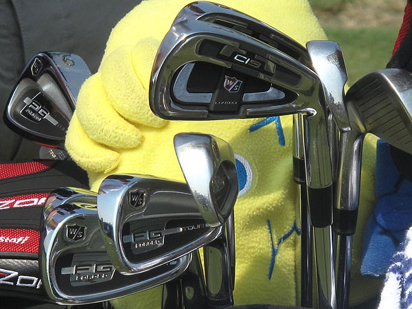 Kevin Streelman plays a combination of Wilson's Ci9 and Forged FG Tour irons.