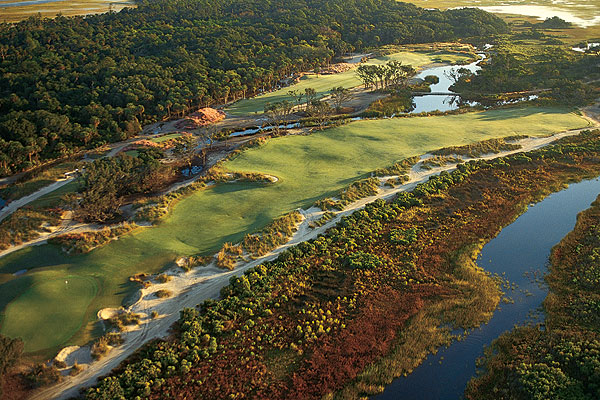 The Green Golf Awards                       Where the environment and your enjoyment can co-exist.                                              These days it's hip to be 'green,' but for years many top golf resorts have been leaders in environmental stewardship. In our first ever 'Green Golf' awards, we applaud these ten properties that have placed a serious emphasis on resource conservation and protection.                                              Kiawah Island Golf Resort                       Kiawah Island, S.C.                       800-654-2924, kiawahresort.com                       Thanks to its seamless blending into the Lowcountry environment, all five courses plus the grounds at The Sanctuary hotel have recently been certified by Audubon International as Cooperative Sanctuaries.
