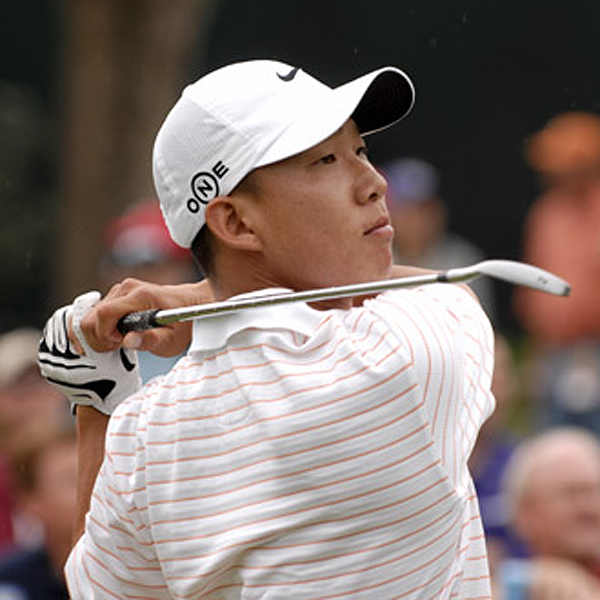 After shooting an opening round 63, rookie Anthony Kim was able to finish his second round Friday with a 69 to stay in the hunt.