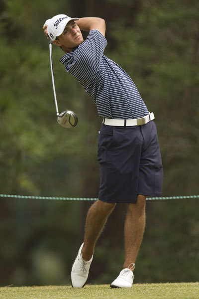 Kyle Stanley at the 2008 U.S. Amateur Championship.