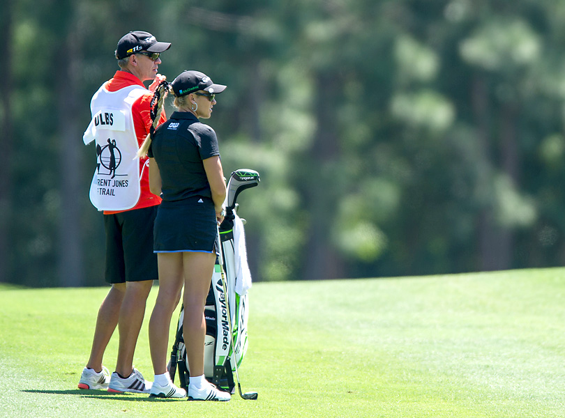 Gulbis has one career LPGA victory but is still one of the best-known women in professional golf.