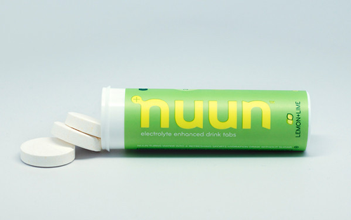 Nuun Active Hydration tablets, $6.50 (single tube); nuun.com                     Endorsed by Tour players like Paul Casey and Brandt Snedeker, Nuun is a sugar-free electrolyte hydration tablet that flavors water to help keep you hydrated during physical activity.