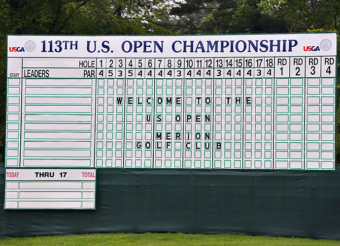 U.S. Open week began Monday with more rain hampering the players ability to practice.
