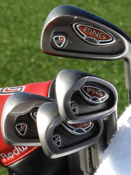 a No. 1 seed at this week's Match Play, uses Ping i10 irons.