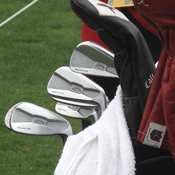 Lee Janzen, a two-time U.S. Open winner, currently uses these Callaway Tour Authentic X Prototype irons.