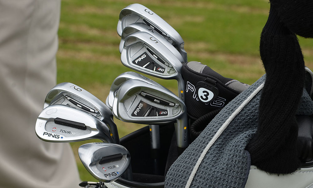Lee Westwood switched to Ping i20 irons last week and won a European Tour event in Sweden.