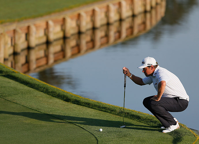Lee Westwood also shot a 67.