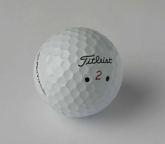 "BALL: Titleist Pro V1x (2013)                     LEE SAYS: ""My ball flight is better with the driver -- I'm seeing a bit less spin versus the previous model."""