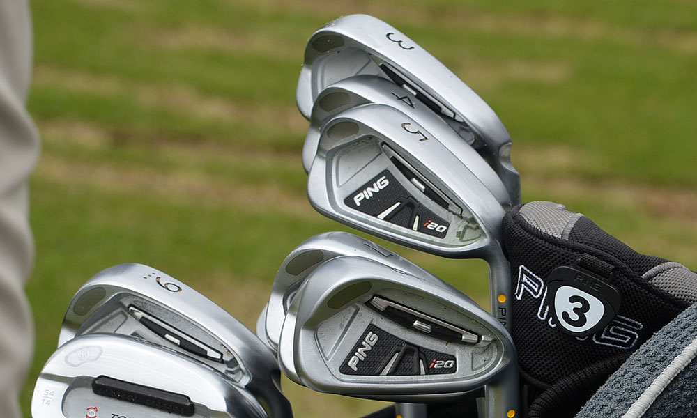 3. Lee Westwood (ENG)                     Ping i20 (3-PW) with Ping JZ shafts.