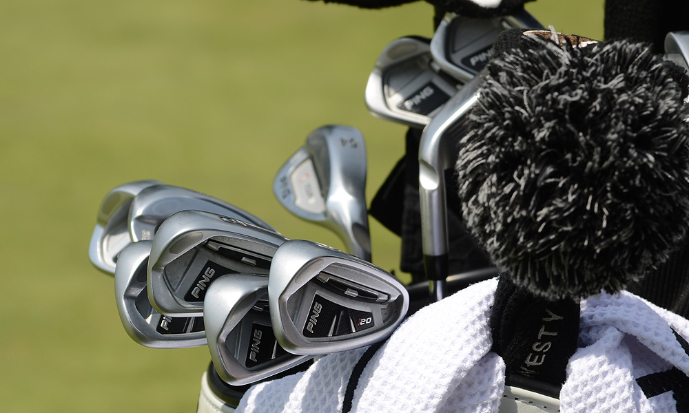 As for clubs, Westwood is using the Ping i20 irons he put into play before the U.S. Open.