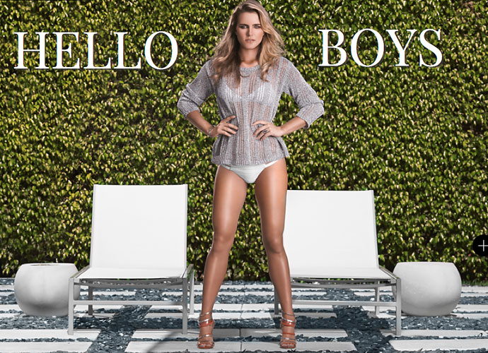 LPGA star Lexi Thompson donned her swimwear for a photo shoot in GolfPunk magazine.
