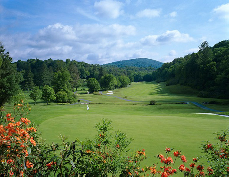 6. Linville Golf Club/Eseeola Lodge, N.C.; 828-733-4363, eseeola.com                     Public access at Linville is limited to guests of the Eseeola Lodge, but it's well worth the splurge to check out the eye-candy afforded at this 1924 Donald Ross design, situated in the Blue Ridge Mountains an hour northeast of Asheville. Trout-filled Grandmother Creek affects play on 14 holes, including at the signature 472-yard, par-4 third, where it must be carried to find the green.                     6. Linville Golf Club/Eseeola Lodge, N.C.; 828-733-4363, eseeola.com                     Public access at Linville is limited to guests of the Eseeola Lodge, but it's well worth the splurge to check out the eye-candy afforded at this 1924 Donald Ross design, situated in the Blue Ridge Mountains an hour northeast of Asheville. Trout-filled Grandmother Creek affects play on 14 holes, including at the signature 472-yard, par-4 third, where it must be carried to find the green.