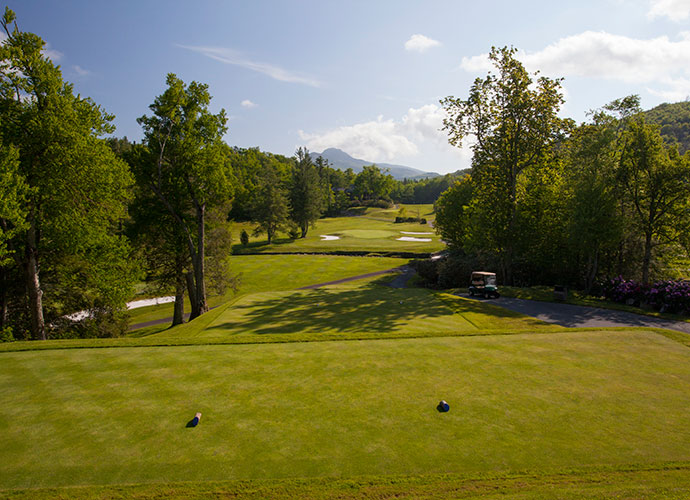 4. Linville Golf Club, Linville, N.C.: Available to guests of the nearby Eseeola Lodge, one of Ross' quieter gems is this 1924 creation in the Blue Ridge Mountains, an hour northeast of Asheville. Trout-filled Grandmother Creek affects play on 14 holes.