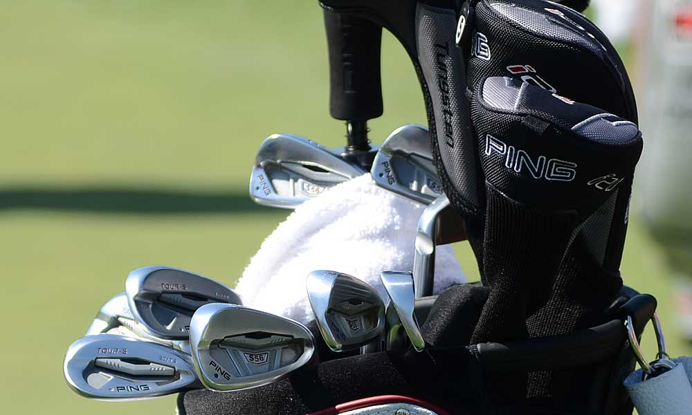 Louis Oosthuizen uses Ping S56 irons.