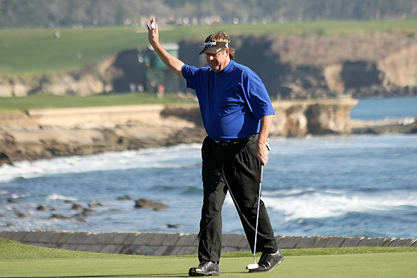 5 Things You Didn't Know ... Pebble Beach                        GOLF.com goes inside the numbers to reveal interesting facts about the key players at the 2008 AT&T Pebble Beach National Pro-Am.                                              Lowery's lowest was pretty high                       The lowest score Steve Lowery posted en route to his victory at the AT&T was his 68 on Sunday. The last time the winner of this event did not have at least one round lower than a 68 was in 1985, when Mark O'Meara won by shooting 70-72-68-73.