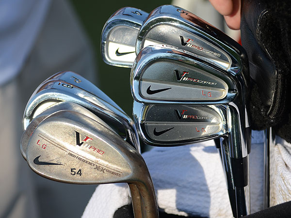 Lucas Glover plays Nike's VR Pro Combo irons and VR Pro Forged wedges.