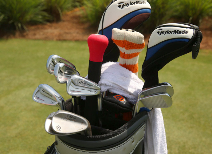 Lucas Glover plays TaylorMade Tour Preferred MC irons and Titleist Vokey SM5 wedges.