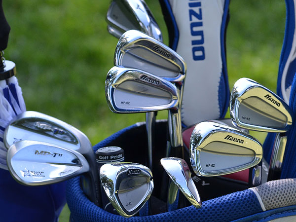Luke Donald arrives at the 2011 U.S. Open as the No. 1 ranked player in the world. His irons of choice are Mizuno MP-62s. He also plays the new MP T-11 wedges.