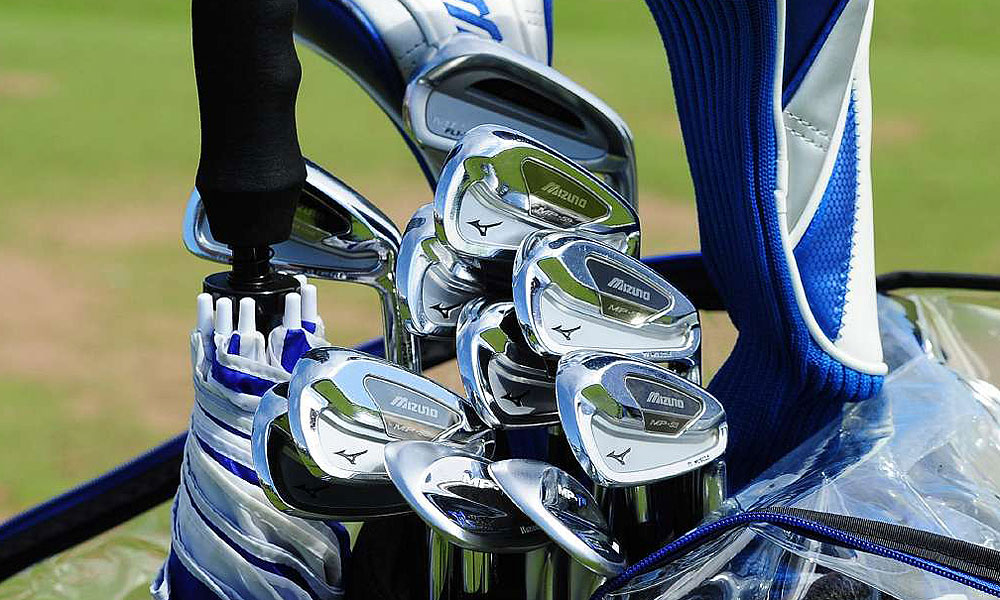 Luke Donald will try to win his first major while using these Mizuno MP-59 irons.