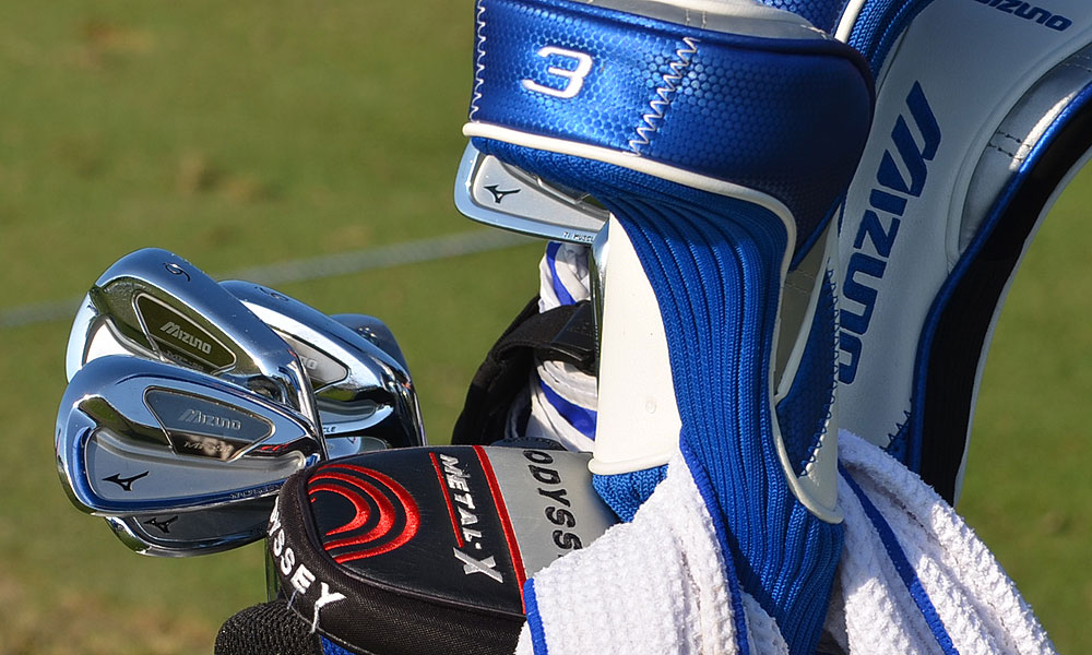 Luke Donald uses Mizuno's MP-59 irons.