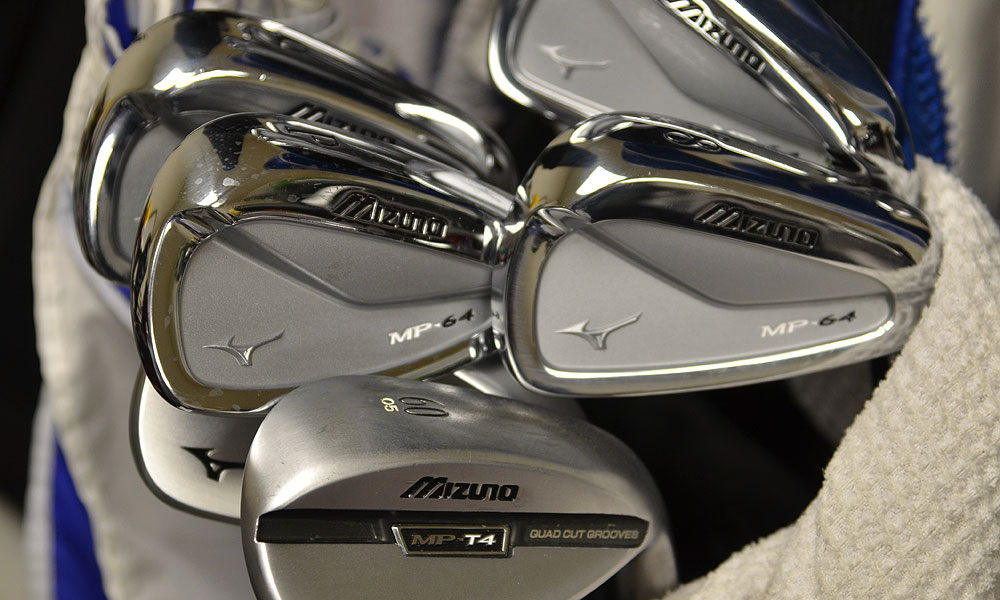 3. Luke Donald (England)                       Mizuno MP-64 (3-PW) with True Temper Dynamic Gold S300 shafts